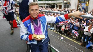 David Weir became the most successful wheelchair racer of all time at London 2012.