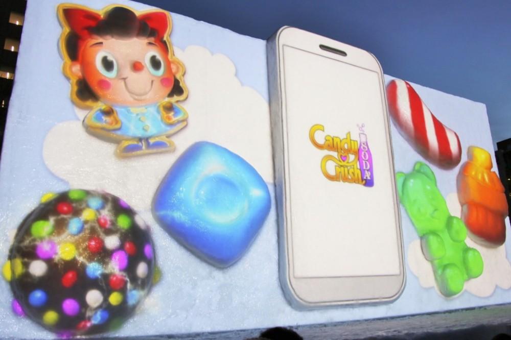 Candy Crush Soda Saga Sapporo