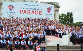 London 2012 Victory Parade Finalé