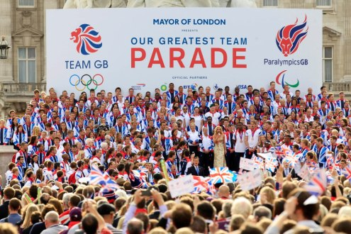 Team GB and Paralympics GB Victory Parade